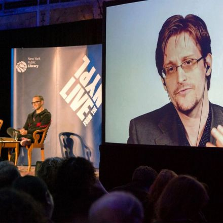 Watch Edward Snowden and Cory Doctorow imagine our hopeful, dystopian future