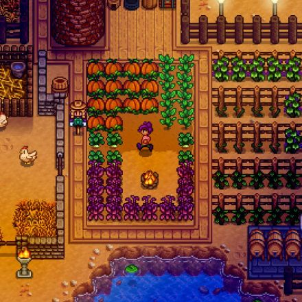 Comfy, Country-Life RPG Stardew Valley Now Available