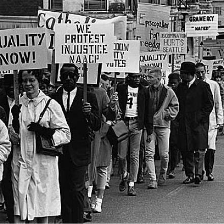 The Seattle Civil Rights Movement. 1960s.