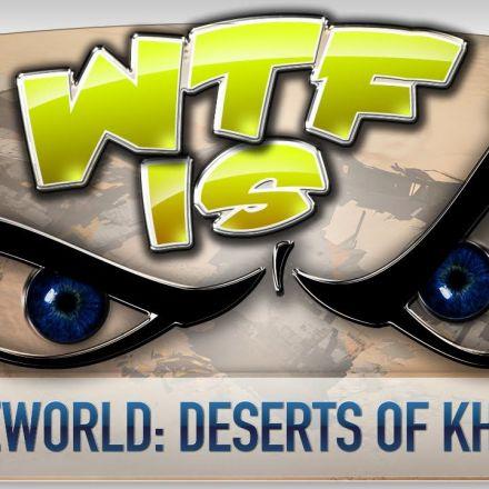 ► WTF Is... - Homeworld: Deserts of Kharak ?