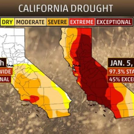 Two of Nation's Worst Droughts See Significant Improvement