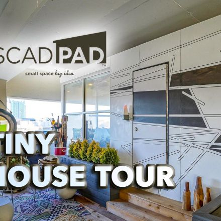 Tiny House Tour - SCADpad North America