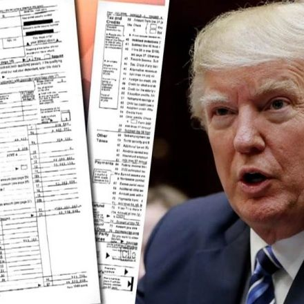 Donald Trump tax: 'He may have leaked 2005 return'