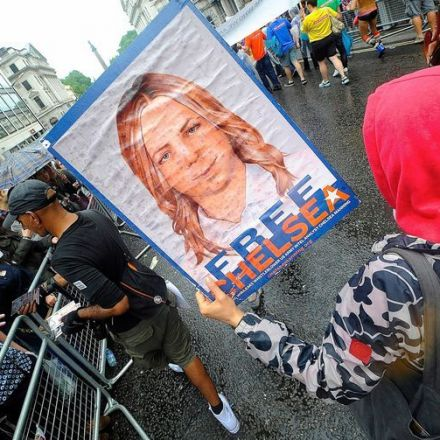 Whistleblower Chelsea Manning walks free today
