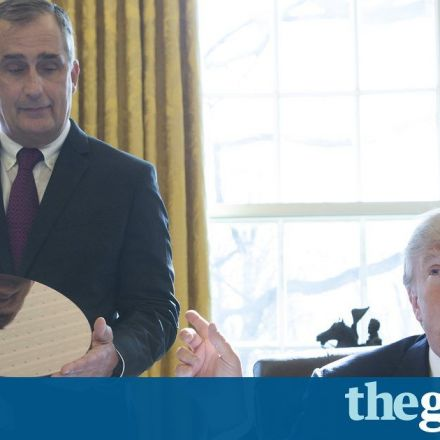 Intel gives Trump credit for $7bn US factory it announced under Obama