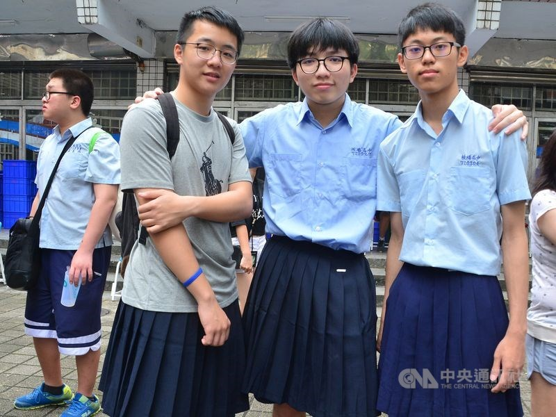 全國首例!板橋高中宣布「男生可以穿裙子上課」 國中小學跟進「制服可混搭運動服」即將上路實施 - 每日好文