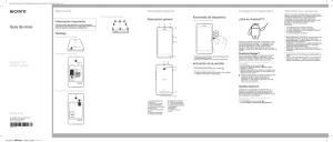 Xperia™ S Guía del usuario