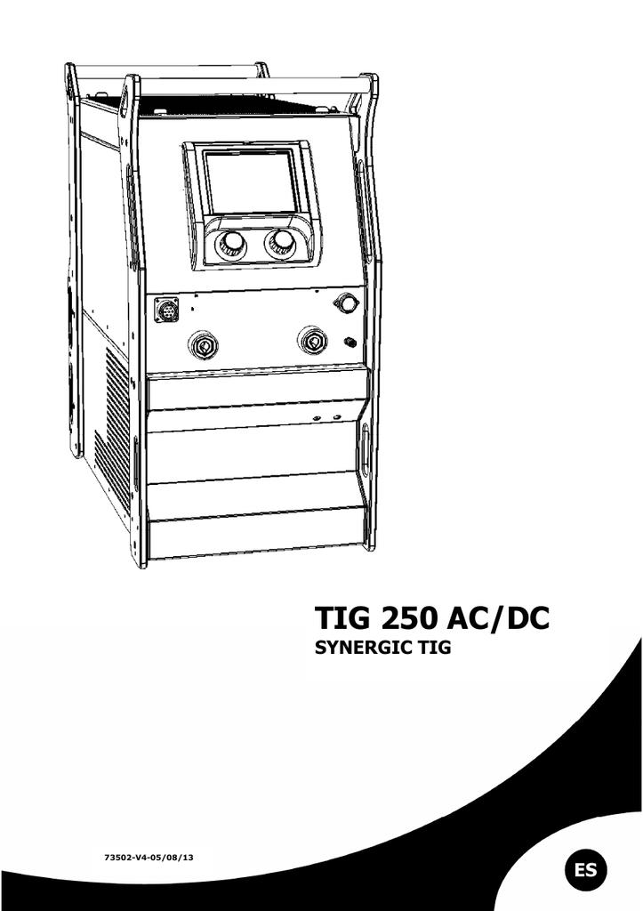 TIG 250 AC/DC