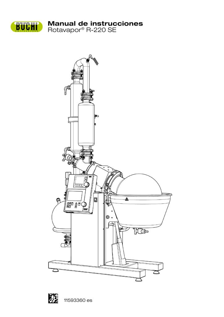 Manual de instrucciones Rotavapor® R-220 SE