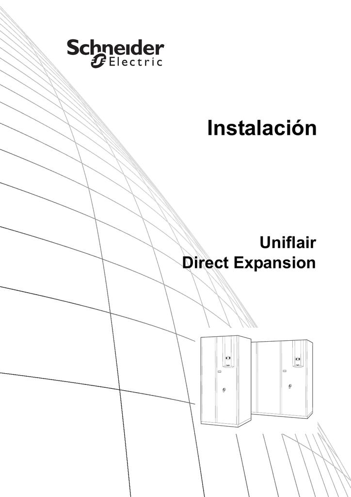 Instalación Uniflair Direct Expansion