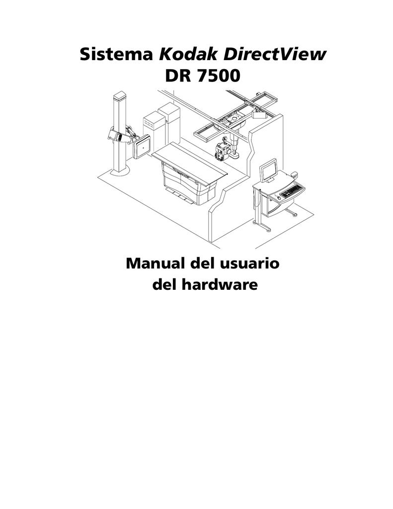 Sistema Kodak DirectView DR 7500