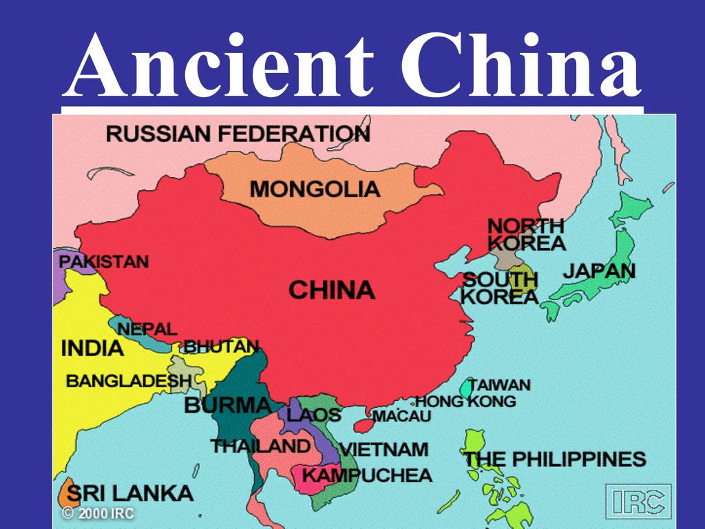 Ap World Ancient China