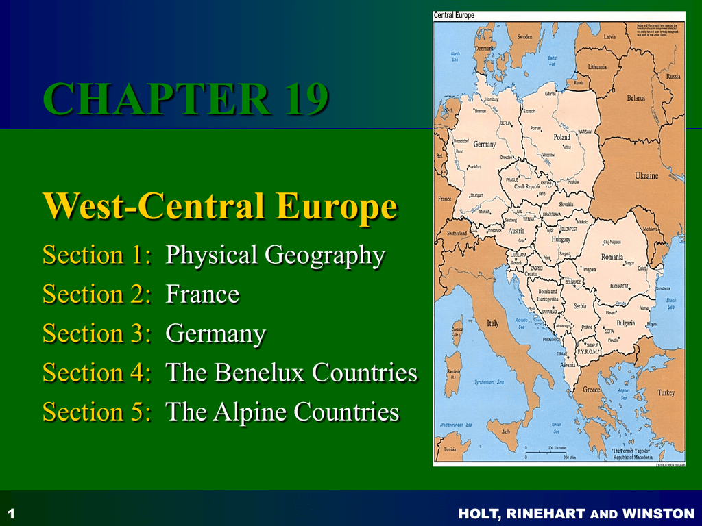 Ch 19 West Central Europe
