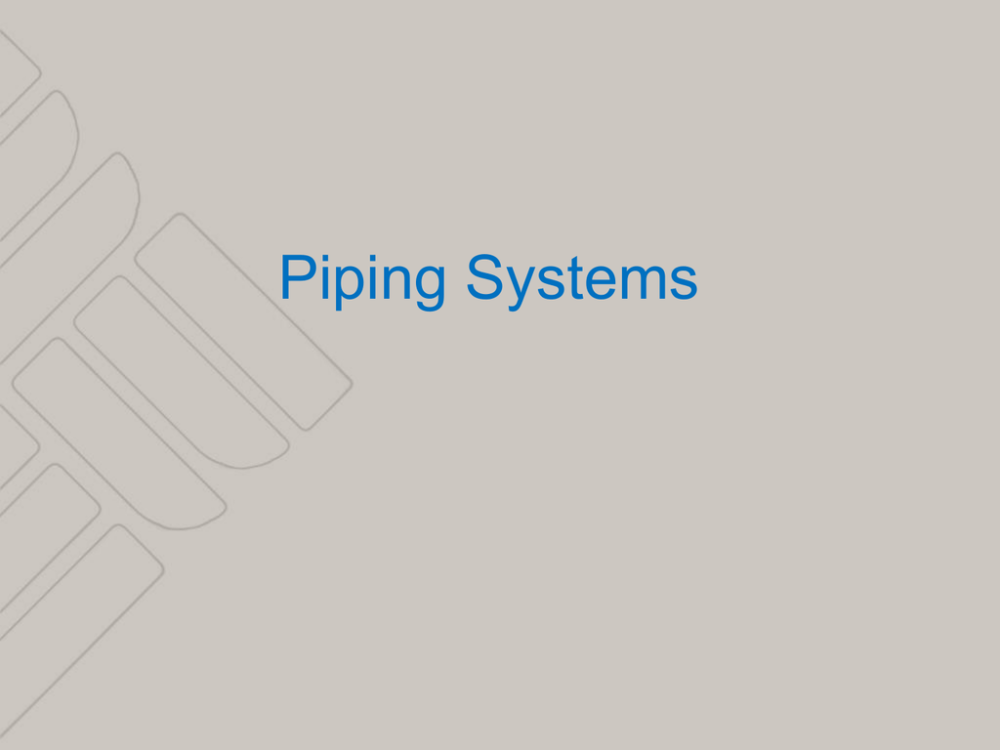 medium resolution of 1 piping systems 2 piping systems series loop monoflo system direct return reverse return primary secondary system basic primary system system