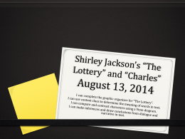 the lottery by shirley jackson plot diagram dodge 2 4 engine charles point8thgradereading montgomery county schools