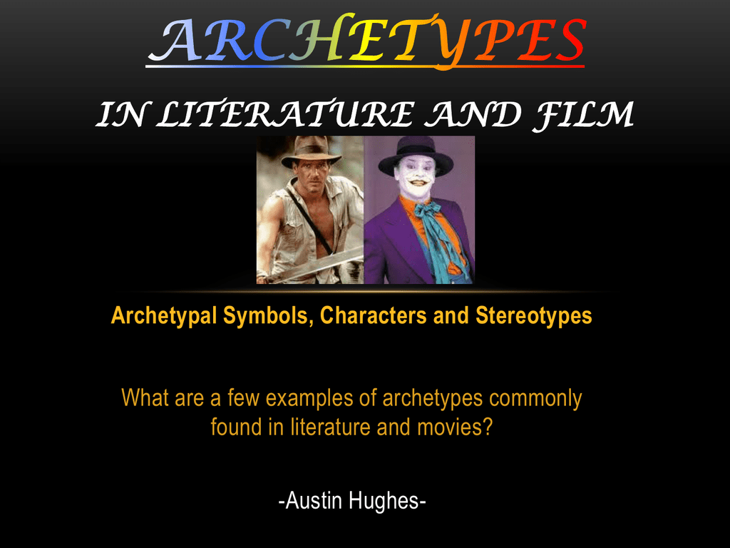 Archetype Symbols And Examples