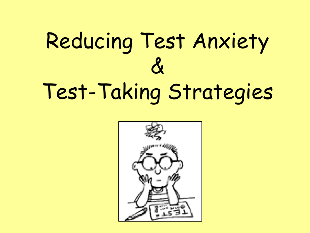 What Are The Different Types Of Test Anxiety