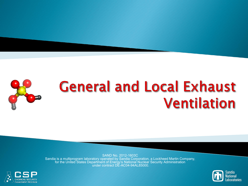 general and local exhaust ventilation csp