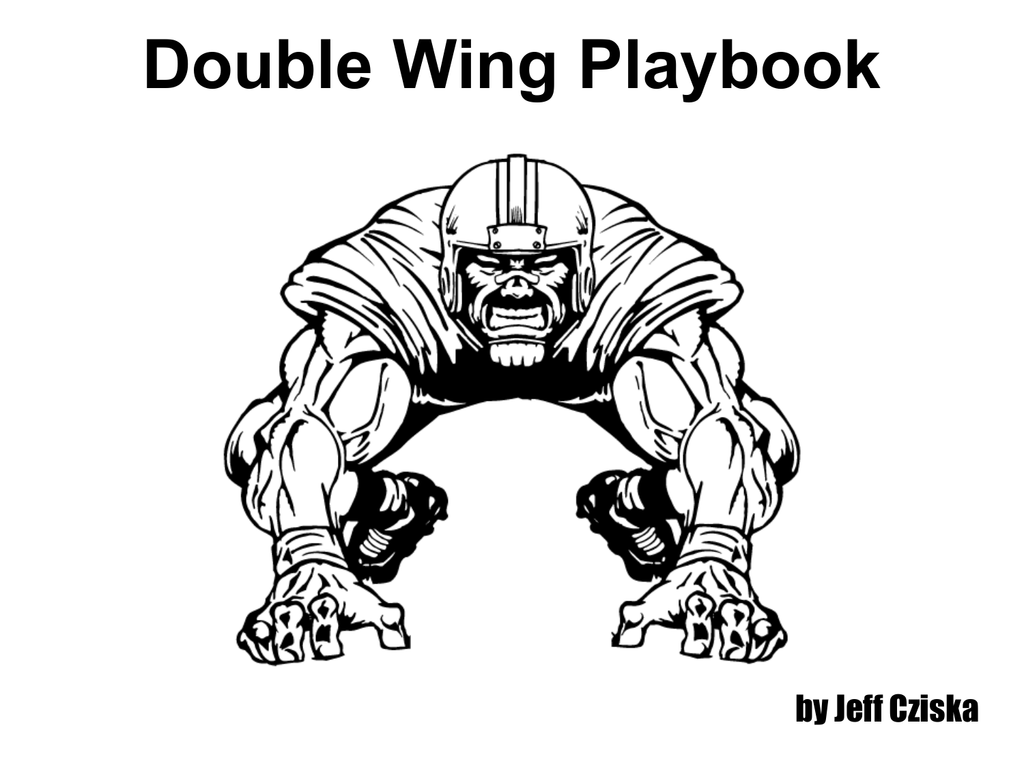Double Wing Playbook 2012