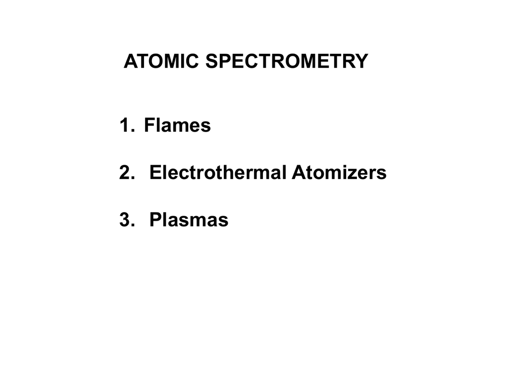 hight resolution of flame emission spectroscopy block diagram