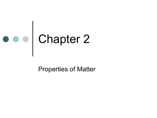 small resolution of 2-1 Classifying Matter