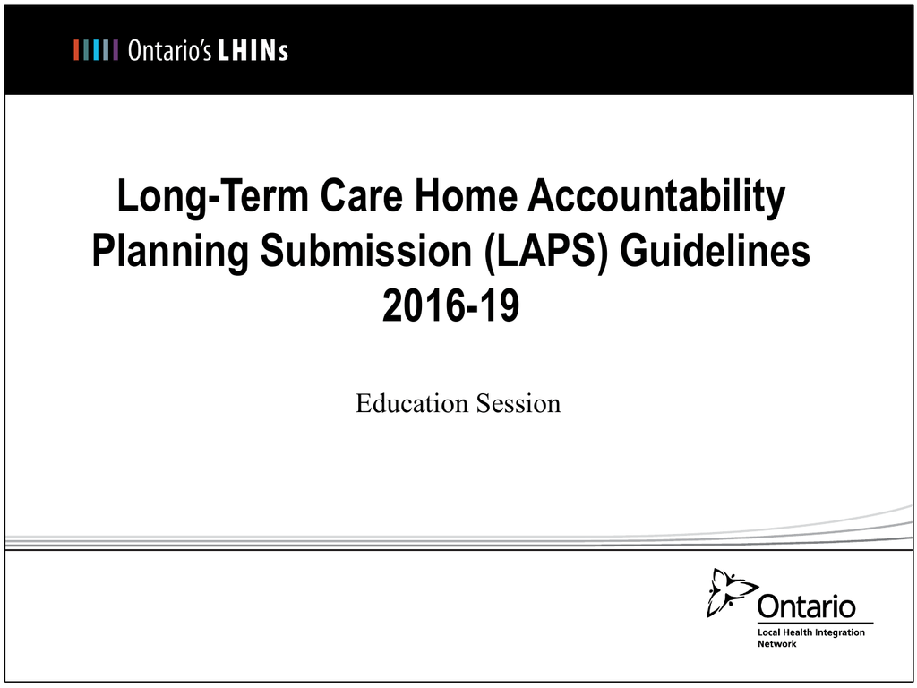 (LAPS) Guidelines 2016-19