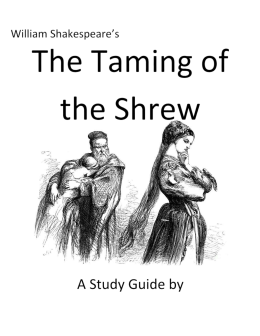 Taming of the Shrew Key Questions, Considerations