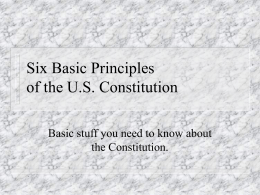 6 basic principles worksheet