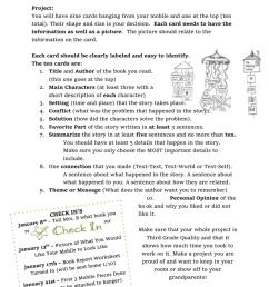 Coat Hanger Book Report Mobile [ 1024 x 791 Pixel ]