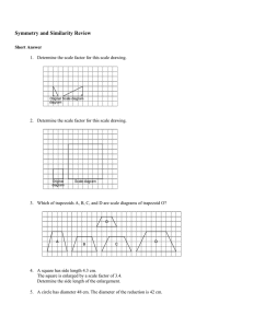 Unit 4 Linear Relations Practice Test