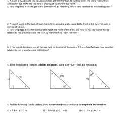 Vector Addition Worksheet Physics - Promotiontablecovers [ 1024 x 791 Pixel ]