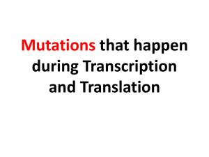 Mutations recap by amoeba sisters
