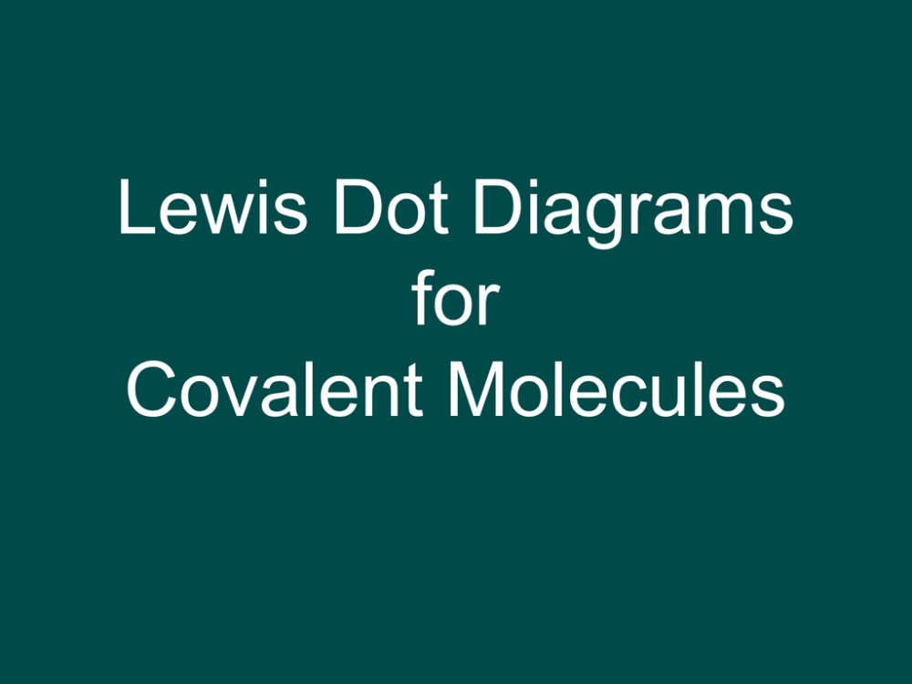 medium resolution of lewis dot diagrams for covalent molecules 3 types of representations 1 lewis structures of compound 2 molecular formula h2 3