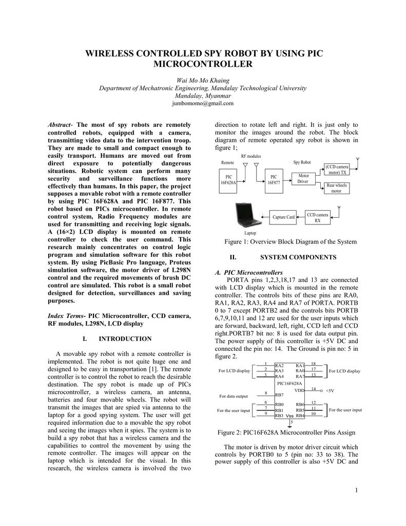 hight resolution of robot block diagram