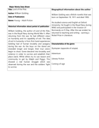 Private Peaceful worksheet answers