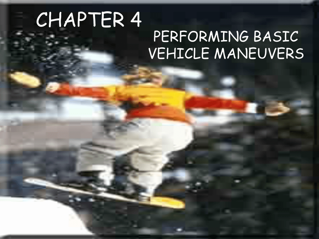 Printables Of Chapter 4 Performing Basic Maneuvers Worksheet Answers