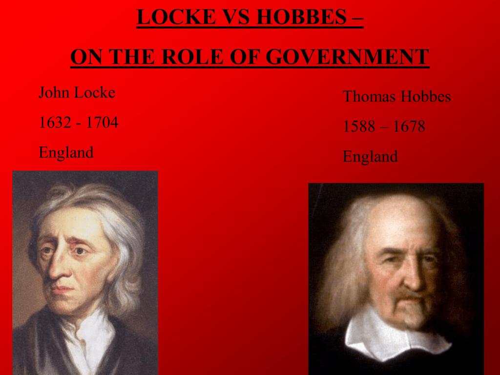 Locke Vs Hobbes