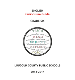 Learning Targets - Loudoun County Public Schools [ 1024 x 791 Pixel ]