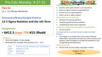 Sigma Notation Worksheet - Kidz Activities