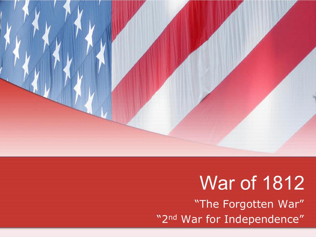 hight resolution of War of 1812 - Mr. Cvelbar's US History Page