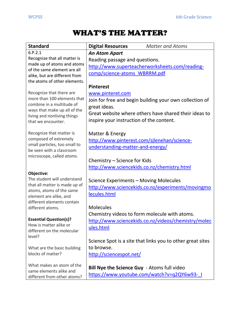 hight resolution of Downloads - WCPSS Middle School Science
