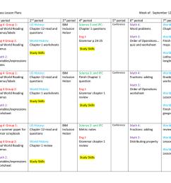 Mrs. Moffitt's Class Lesson Plans Week of: September 12 [ 791 x 1024 Pixel ]