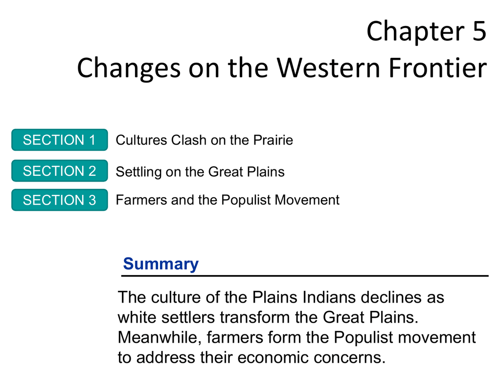 Cultures Clash On The Prairie Worksheet Answers