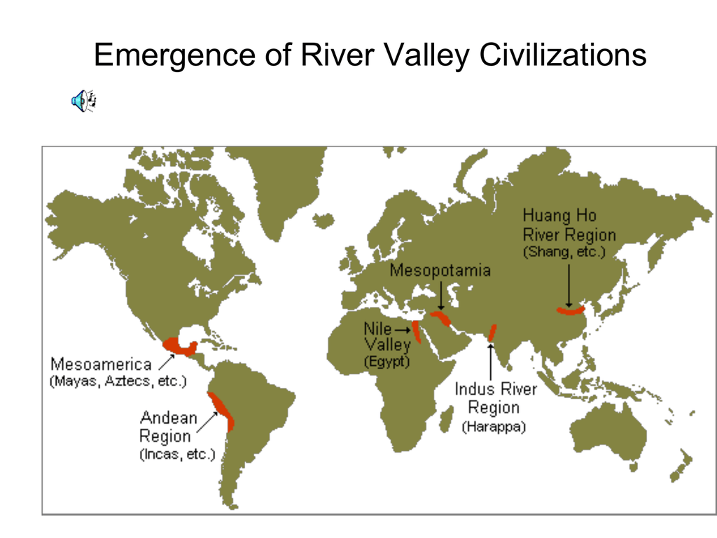Four Great River Valley Civilizations