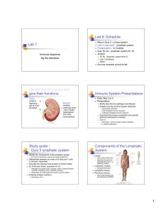 also lab schedule immune response ag ab reactions rh studylib