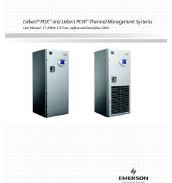 liebert pdx and liebert pcw thermal management systems liebert mc condenser wiring diagram [ 791 x 1024 Pixel ]