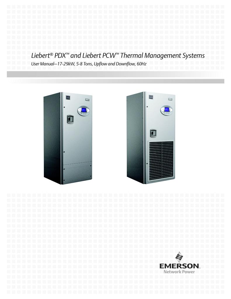 medium resolution of liebert pdx and liebert pcw thermal management systems liebert mc condenser wiring diagram