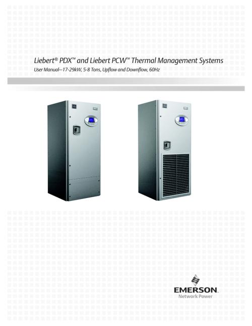 small resolution of liebert pdx and liebert pcw thermal management systems liebert mc condenser wiring diagram