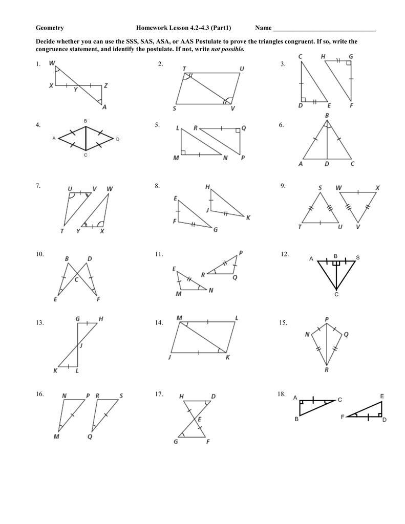 hight resolution of Right triangles test answer key