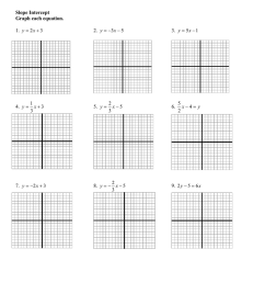 Algebra 1 Graphing Equations and Systems Worksheet Slope Intercept [ 1024 x 791 Pixel ]